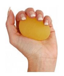 26741Y - Gripball - jaune