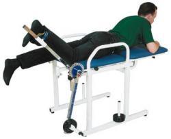quadriceps exercise bench Fysiomed
